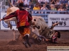 This rodeo clown had a bad night